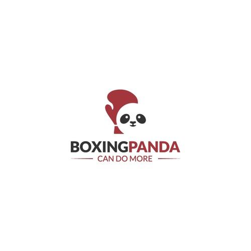 BOXINGPANDA logo design
