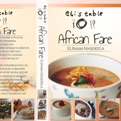Trendy African Cookbook Design
