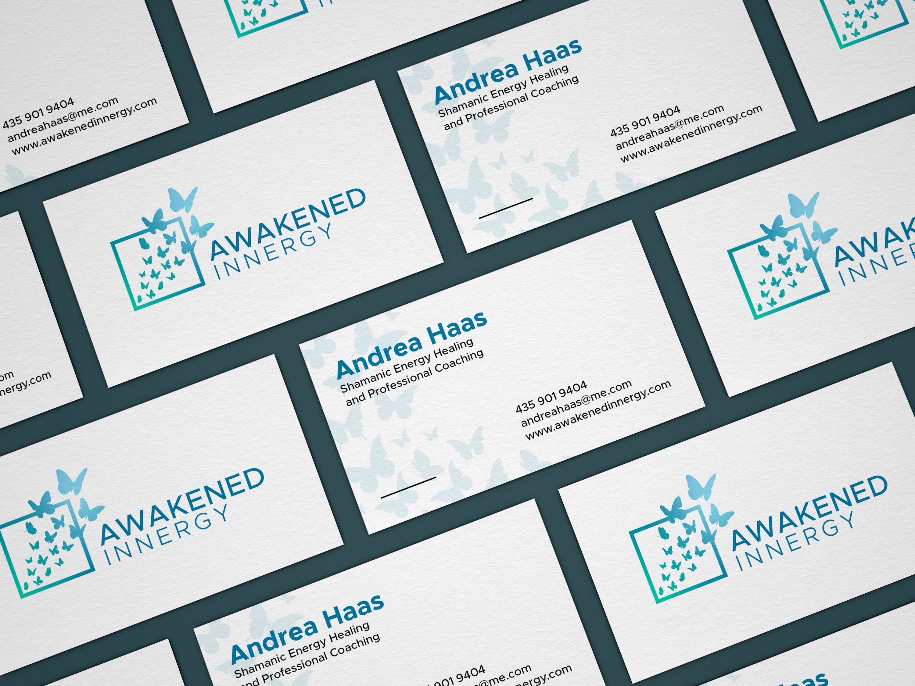 Awakened Innergy Business Cards