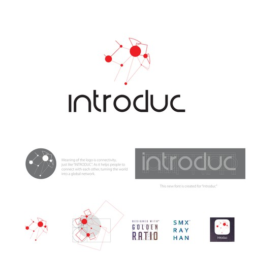 Logo concept for Introduc.