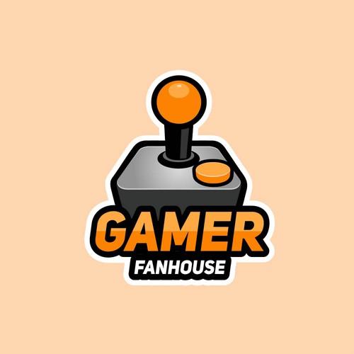 Logo concept for Gamer Fanhouse