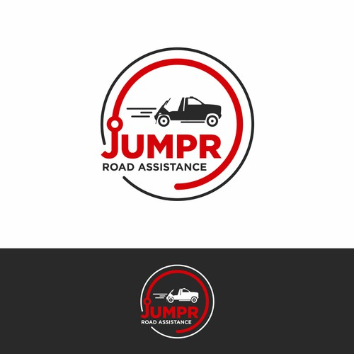 Logo for a road assistance company from Canada