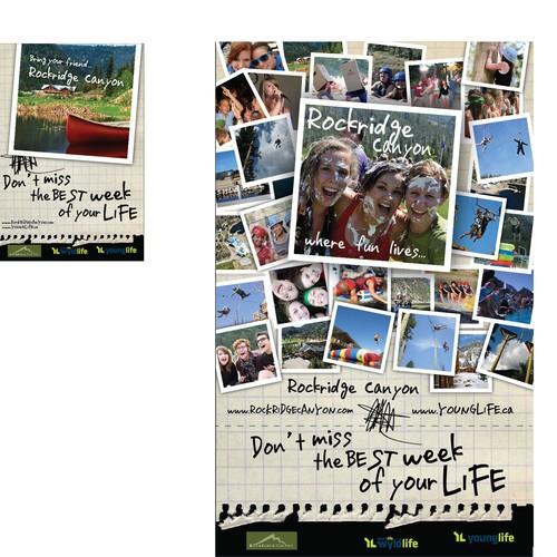 Rockridge Canyon Poster and postcards