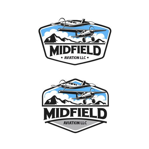 Bold concept of Midfield Aviation LLC