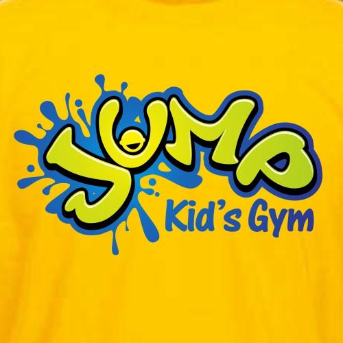 Logo Design for Jump Kids Gym