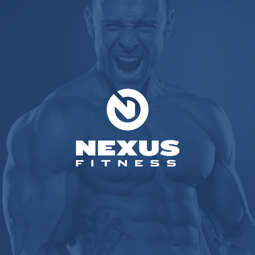 Bold logo for an exclusive gym