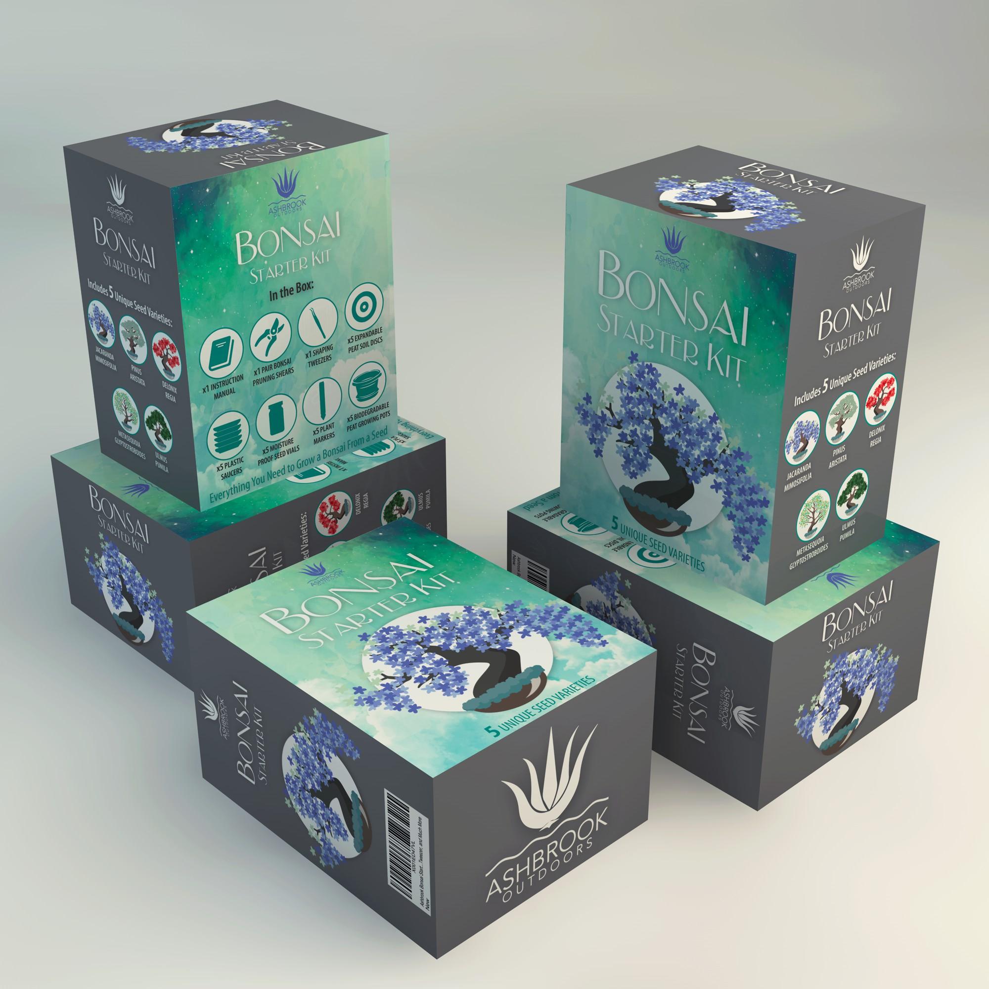 Bonsai Starter Kit Packaging Design Contest
