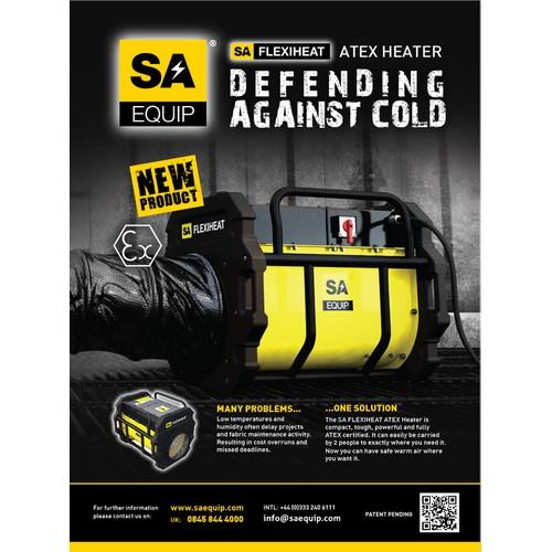 SA Magazine Ad Design