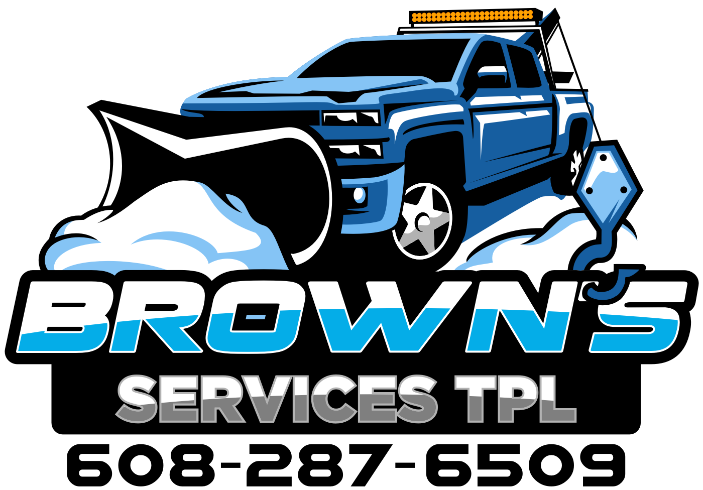 Brown's Services TPL needs a new, clean logo for future merchandising efforts