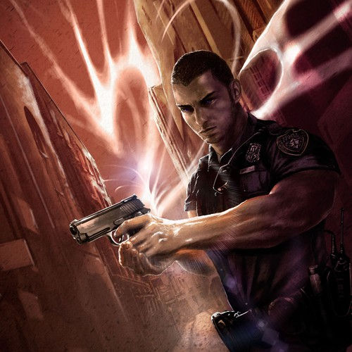 Cover Art for Dark Urban Fantasy Novel