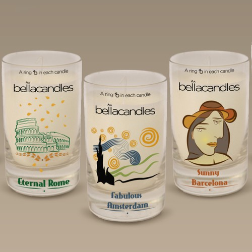 Labels for  BellaCandles
