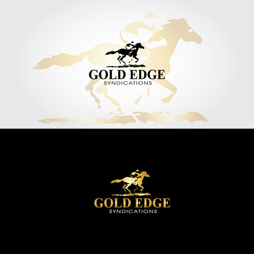 SOLD -racing horse logo