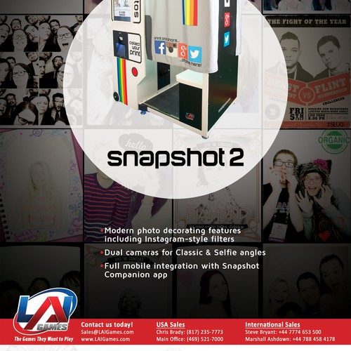 Magazine advertisement for Snapshot 2