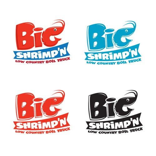 Big Shrimp'n Logo