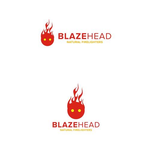 BLAZEHEAD logo design