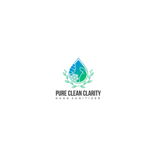 Logo concept for Pure Clean Clarity