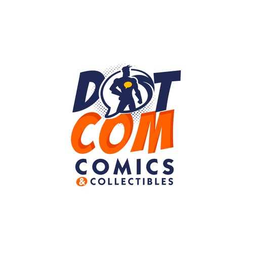 Comics store logo