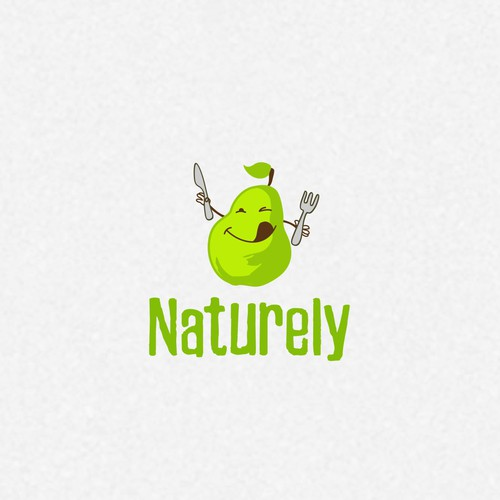 Logo for a healthy meal delivery service for kids