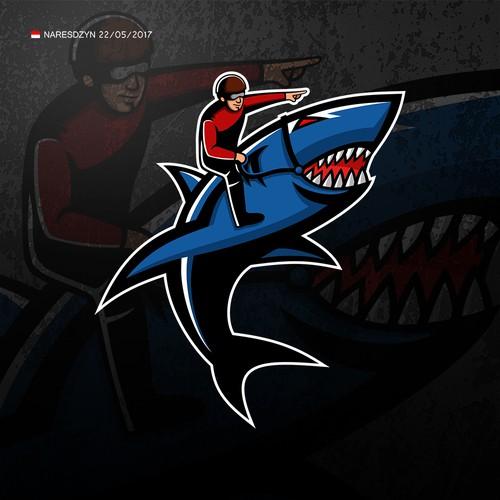 Shark Jockey logo
