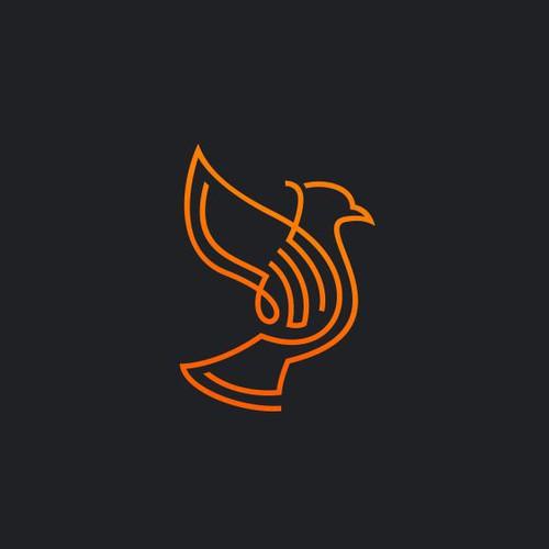 monoline bird concept