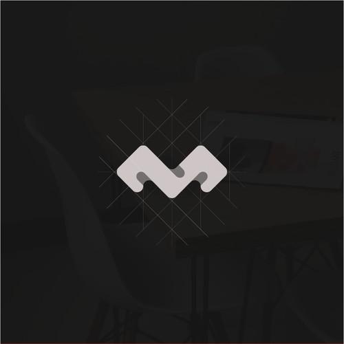M logo monogram