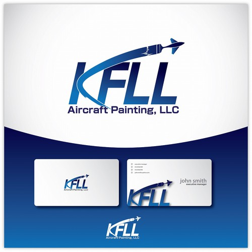 AIRCRAFT PAINTING COMPANY LOGO - FUN LOGO BUT CORPORATE LOOK TOO