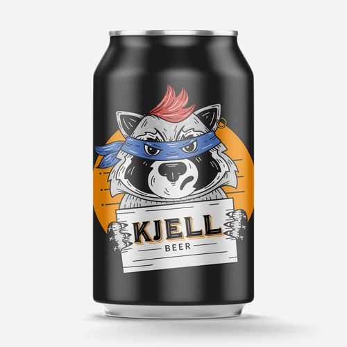 Mascot for Beer Label