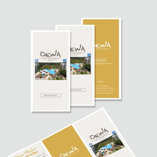 Flyer for Dewa Nai Yang Beach Phuket