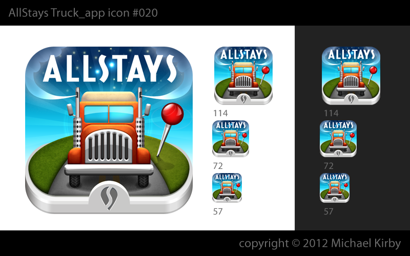 New icon needed for popular universal road app