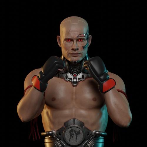 Bionic( Cyborg) Fighter