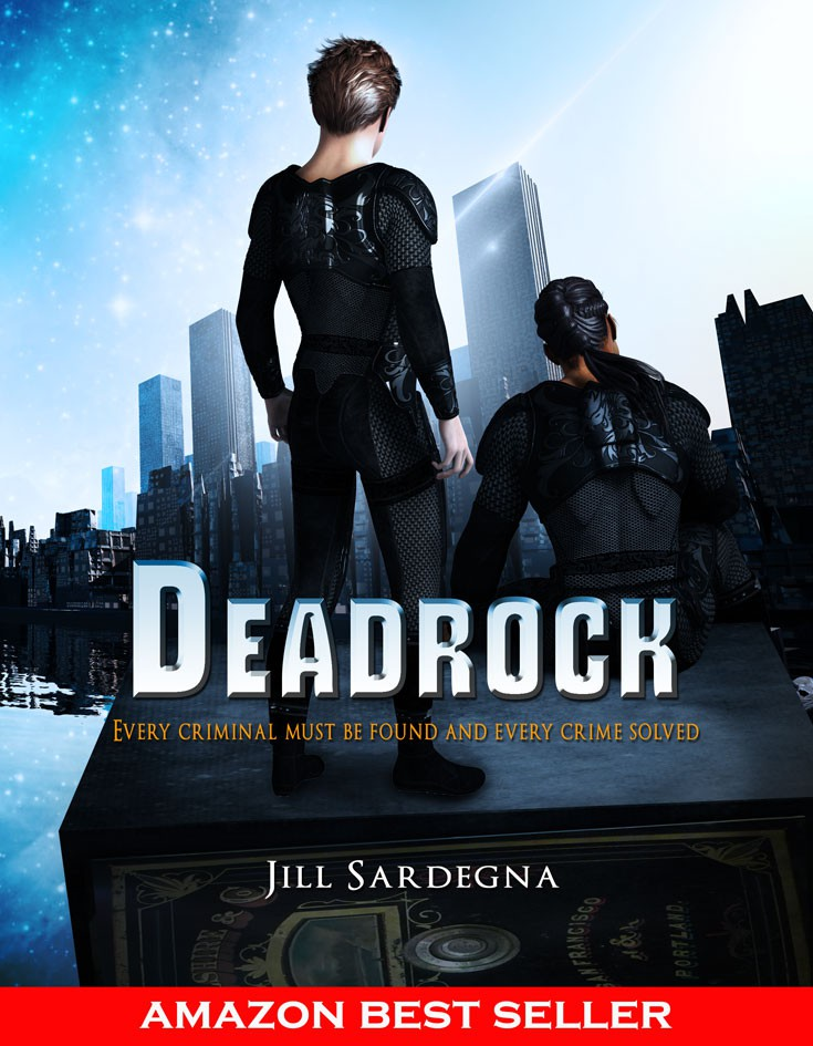 Create an attention-getting Kindle book cover for a YA novel titled, Deadrock.