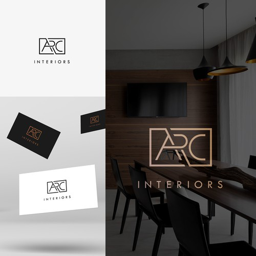 Logo concept for interiors studio