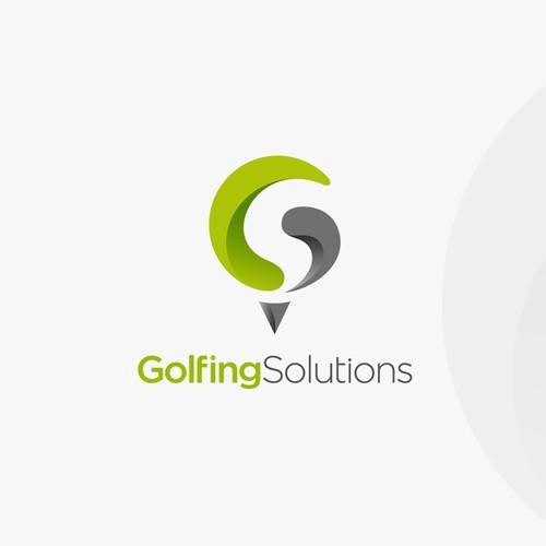 Golfing Solutions logo