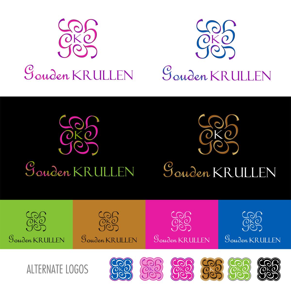 logo for Gouden Krullen