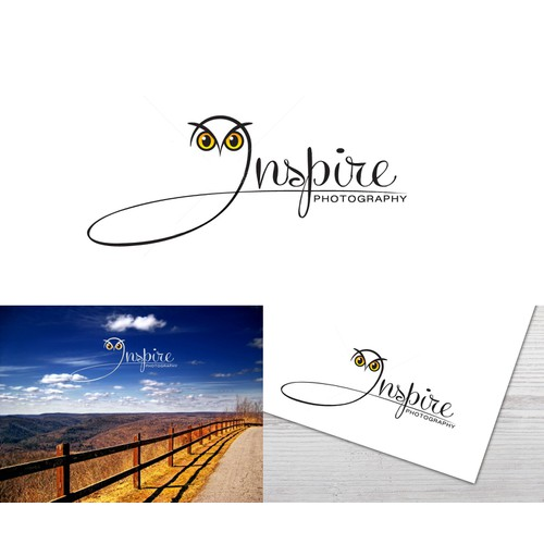 Create an 'inspiring' Logo for INSPIRE PHOTOGRAPHY