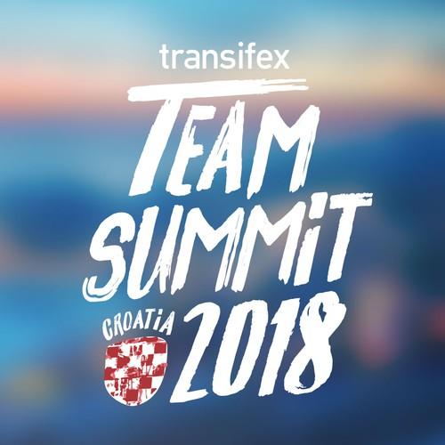 Logo for Transifex Team Summit 2018