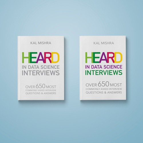 """""""Heard In Data Science Interviews"""" Book Cover"""