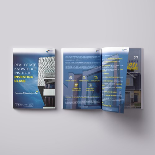 Brochure for real estate