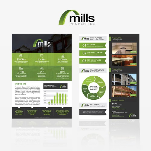 Marketing Collateral for Real Estate & Mortgage Company