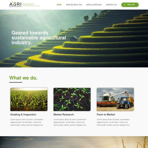 AGRI Marketing Site