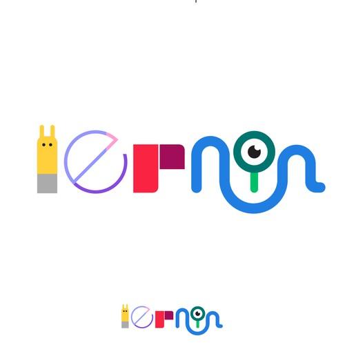 New logo for children educational games