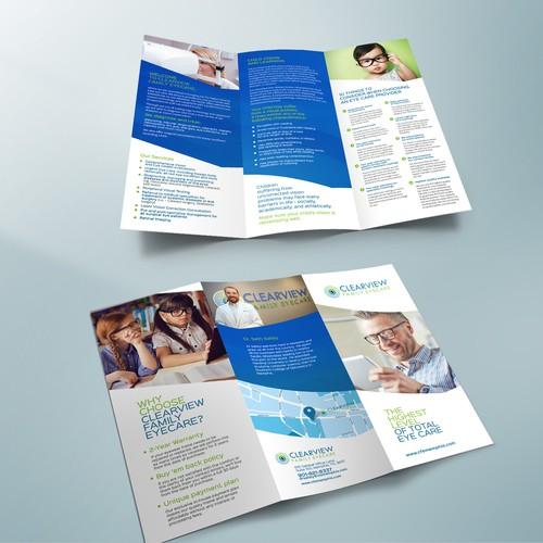 Family Optometry Clinic Brochure