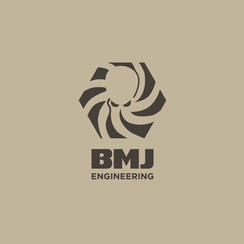 Mining engineering company incorporating octopus theme