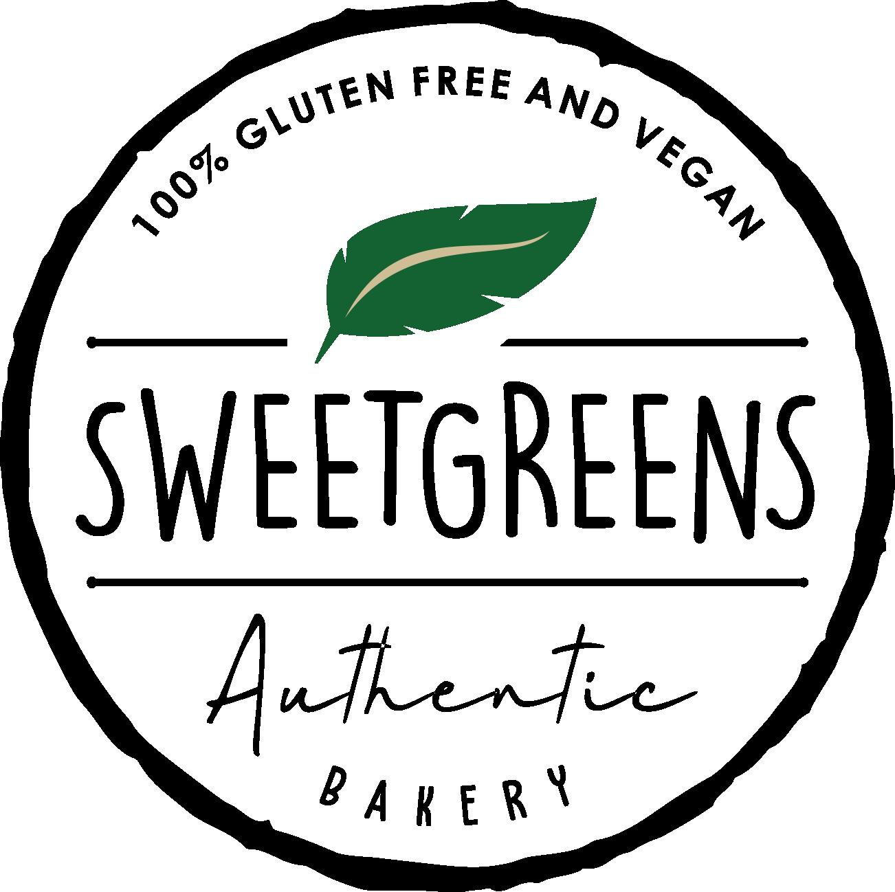 logo for gluten free vegan online bakery