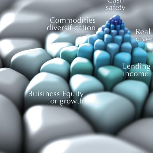 Create Header Art for Investment Newsletter using Fibonacci Art