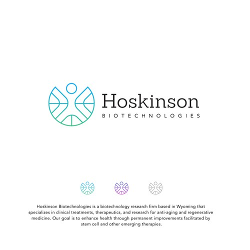 Logo For a BioTechnology Firm