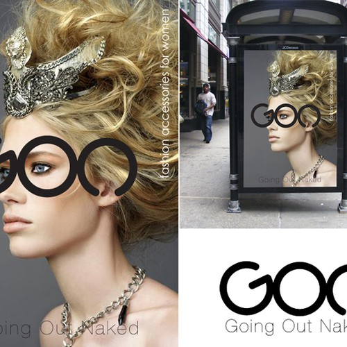 Logo for luxury fashion accessories made in France.