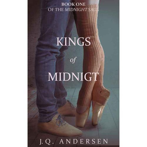 Book cover design for a romance novel.