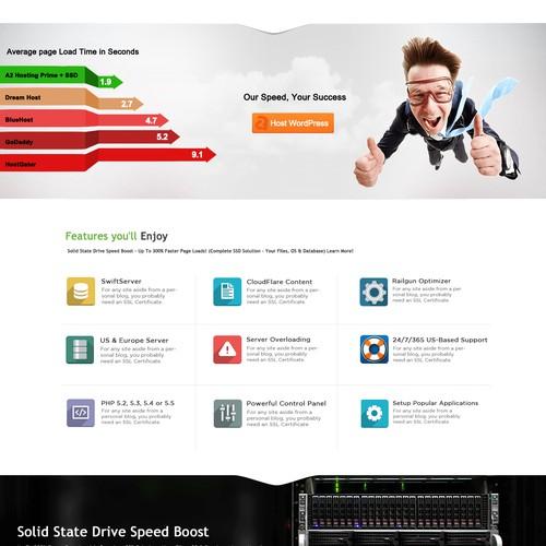 Redesign Hosting Website