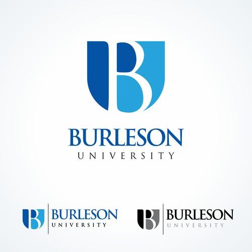 Burleson University Logo Design